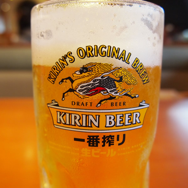 サイゼリヤでビールを飲むのはお気に入りの時間。